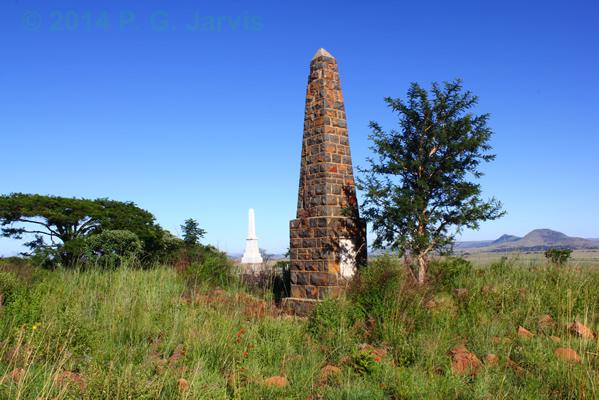 Elandslaagte memorials Ladysmith