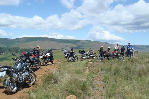 Ryder Motorrad Battlefields Motorbike tour at Kambula Battlefield