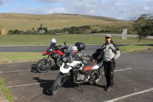 motorbikes at Grahamstown Settler monument
