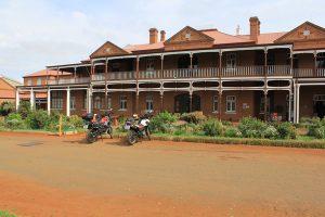 Motorbikes at McGregor museum Kimberley