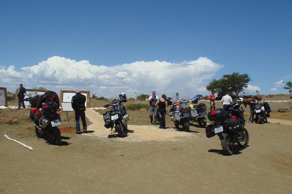 Ryder Motorrad Battlefields Motorbike tour at Spioenkop battlefield