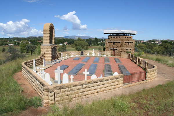 Aliwal North British Memorial and blockhouse