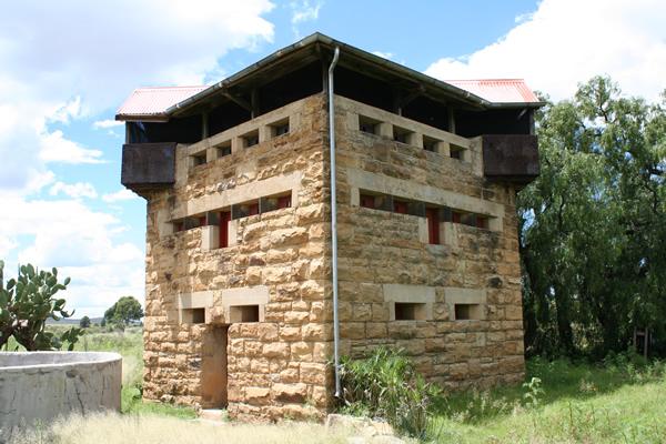 Blockhouse at Stormberg Railway siding