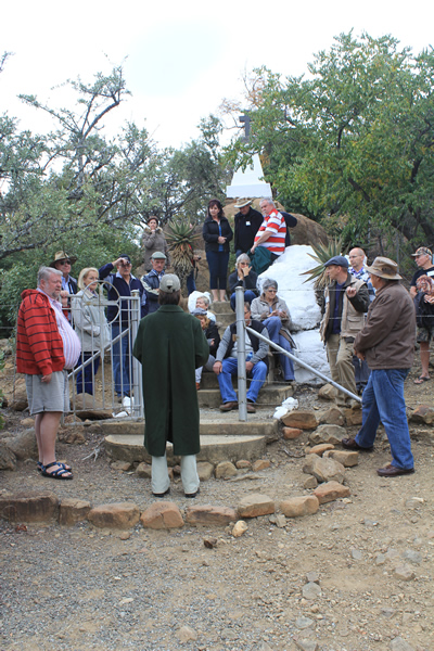 Fugitives Drift Monuments