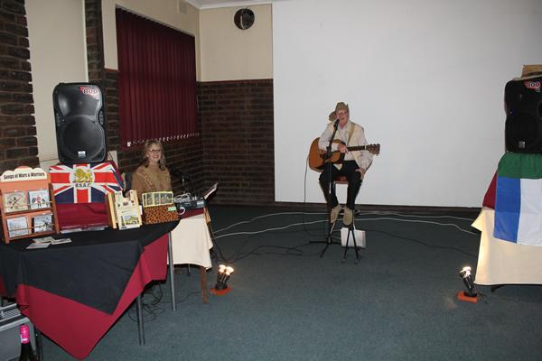 John Edmond singing battlefield songs