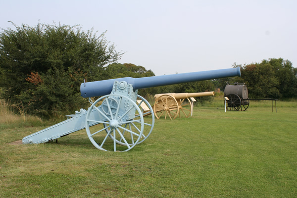 155mm Long Tom Fortress Gun